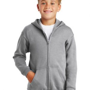 Gildan Kids Heavy Blend Full Zip Up Hooded Sweatshirt