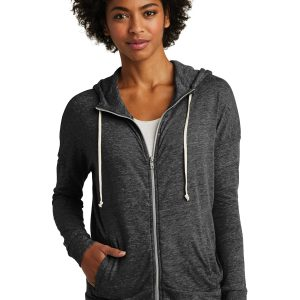 Alternative Women's Eco-Jersey™ Cool-Down Zip Hoodie