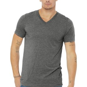 Bella+Canvas® Unisex Triblend Short Sleeve V-Neck Tee